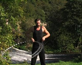 hooping outside circles